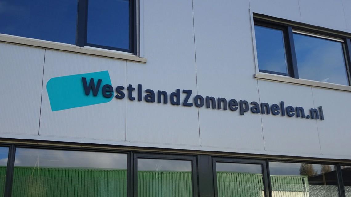 Tanco Reclame WestlandZonnepanelen gevel 1
