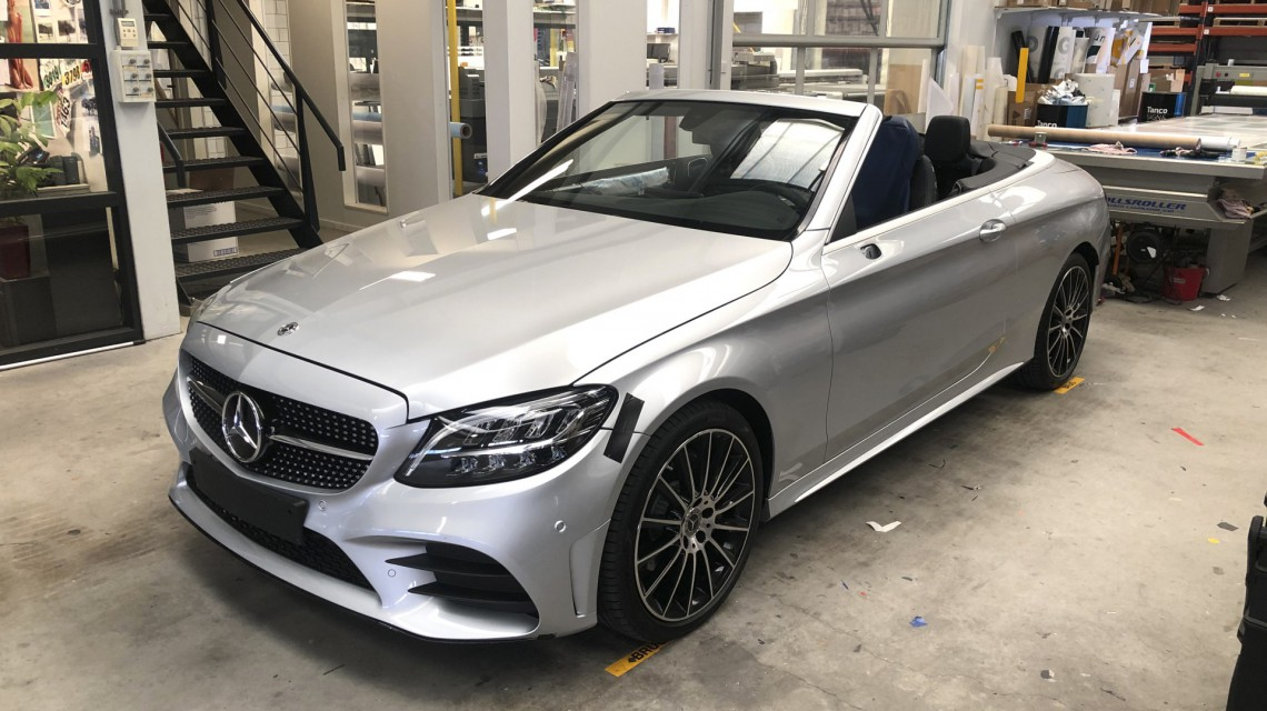 MercedesCarwrap001