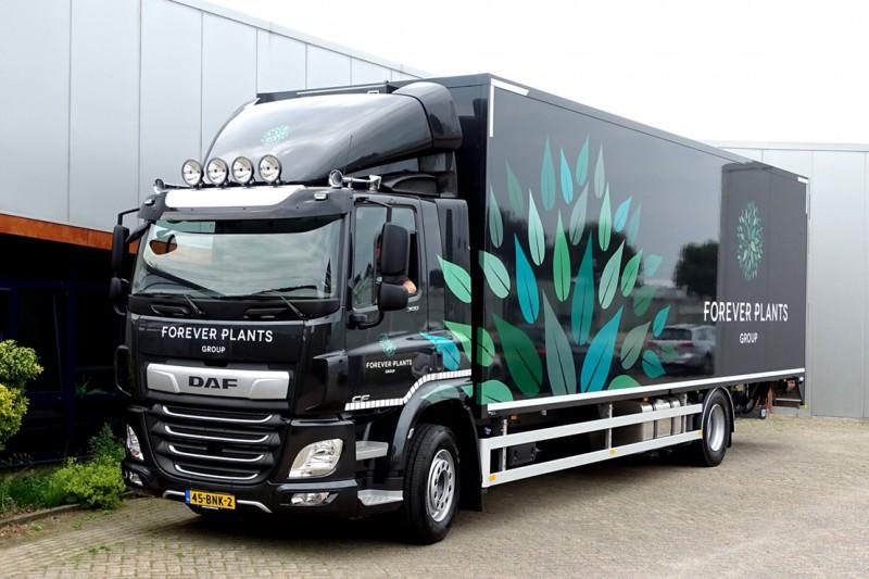 Vrachtwagen Forever Plants
